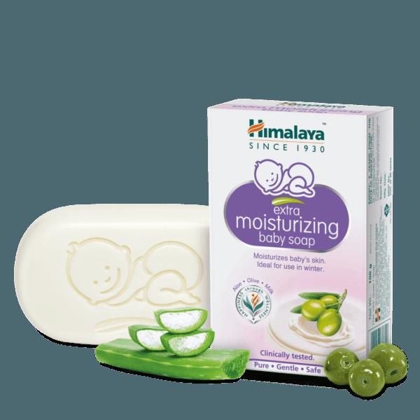 увлажняющее детское мыло himalaya