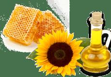 Мед и Подсолнечное масло