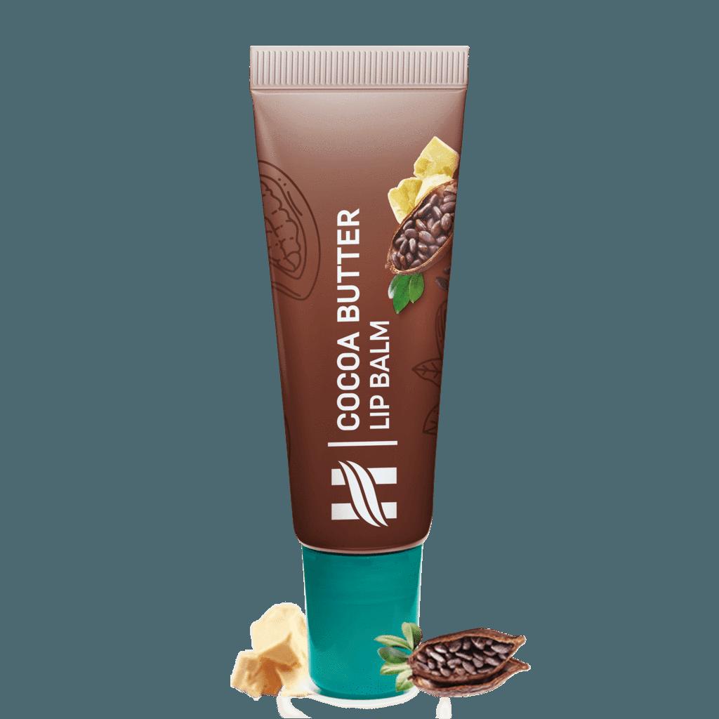 Бальзам для губ с маслом какао