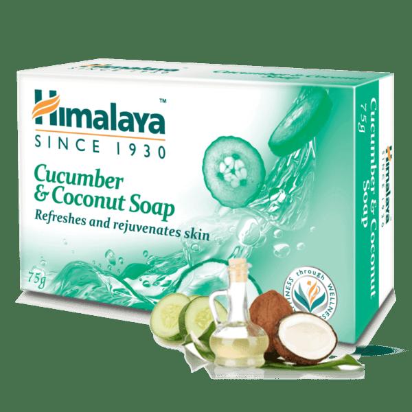 Мыло с огурцом и кокосом