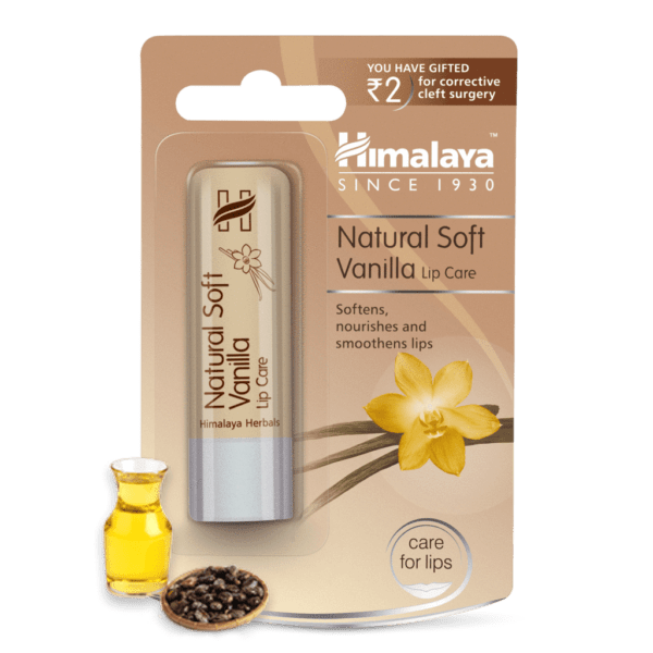 Бальзам для губ натуральная мягкость с ванилью